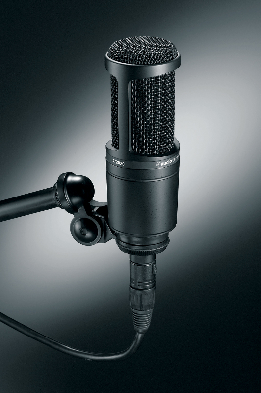 audio technica at2020 microphone pro audio superstore. Black Bedroom Furniture Sets. Home Design Ideas