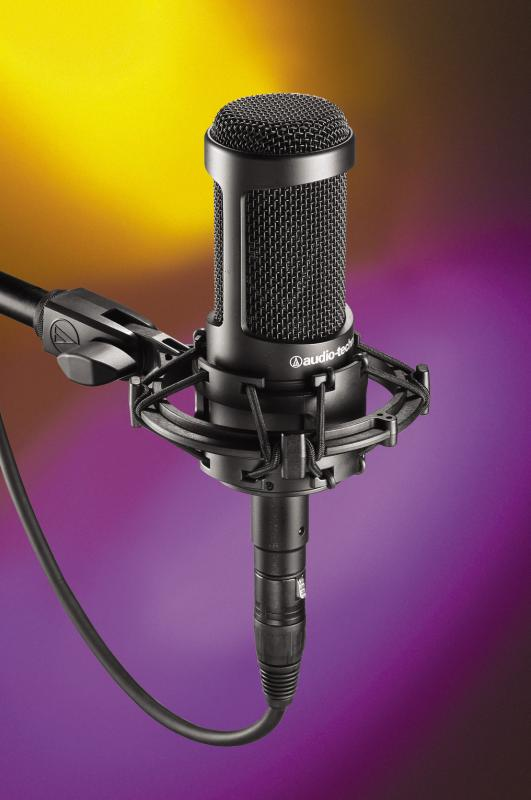 audio technica at2035 condenser microphone pro audio superstore. Black Bedroom Furniture Sets. Home Design Ideas