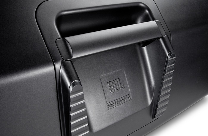 Image of JBL EON615's handle.