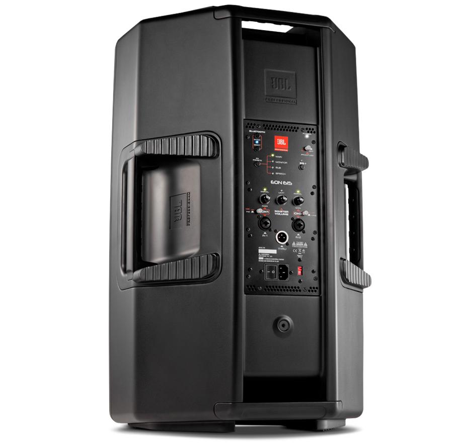 jbl eon615 15 2 way powered pa speaker w bluetooth pro audio superstore. Black Bedroom Furniture Sets. Home Design Ideas