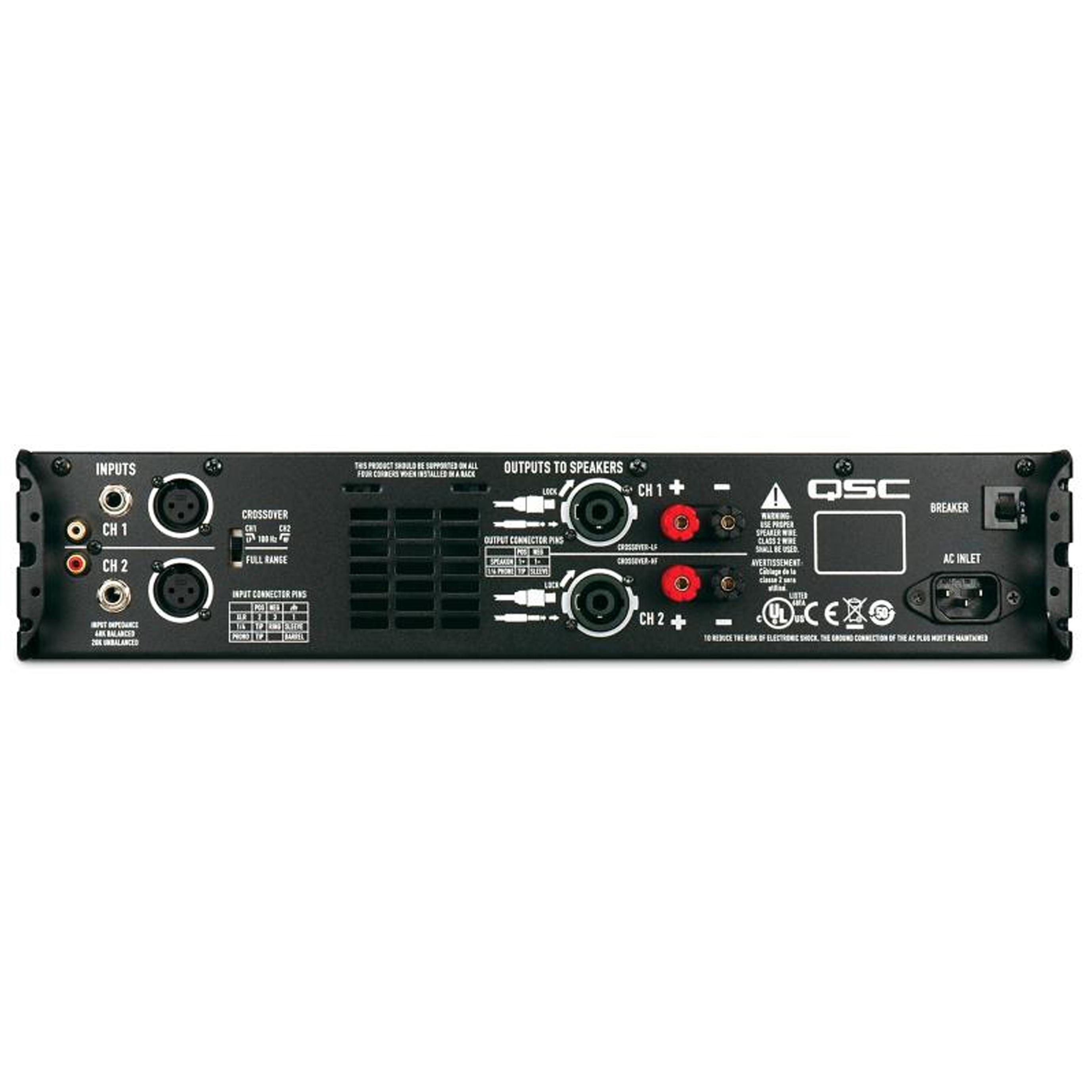 qsc gx5 2 channel power amplifier pro audio superstore. Black Bedroom Furniture Sets. Home Design Ideas