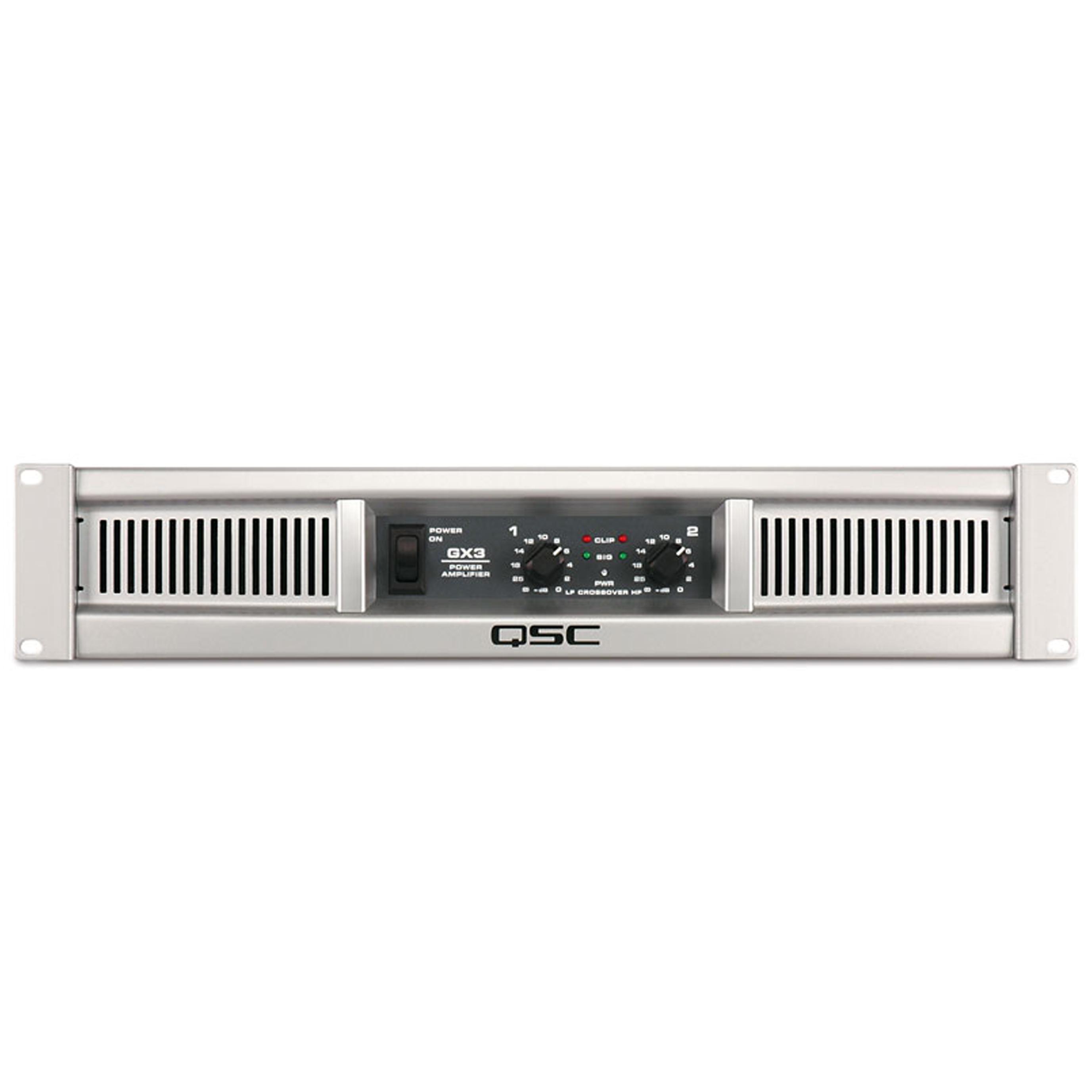 qsc gx3 amplifier pro audio superstore. Black Bedroom Furniture Sets. Home Design Ideas