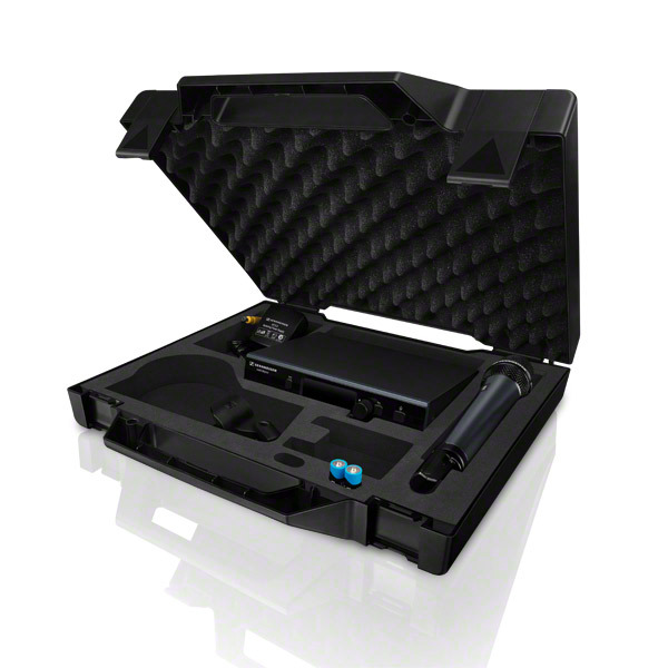 Photo of the Sennheiser ew D1-835s included case.
