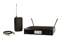 Photo of Shure BLX14R Wireless Guitar Microphone System