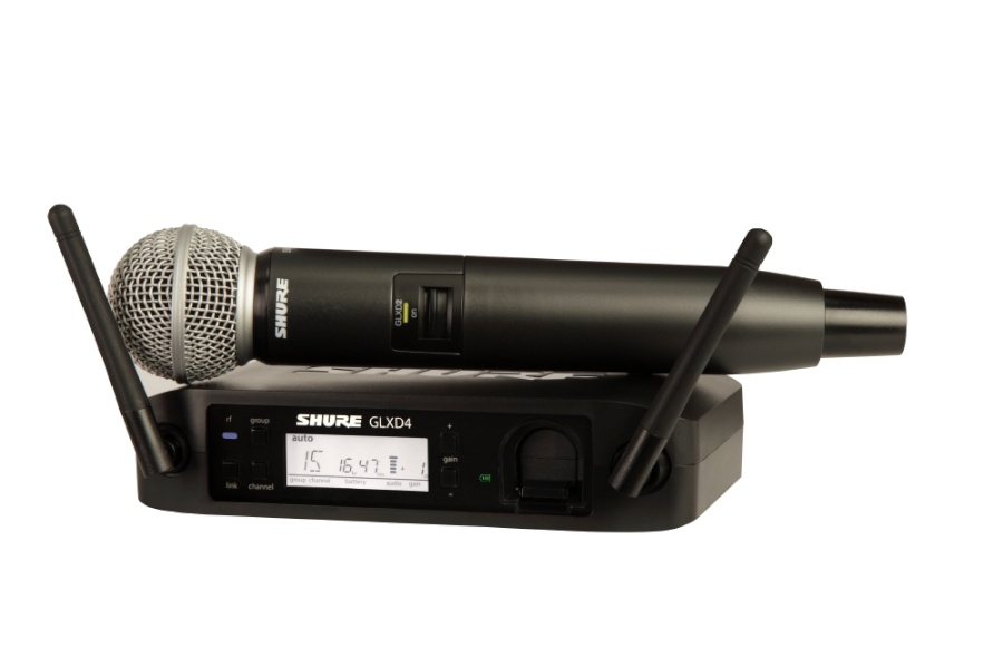 Photo of Shure GLXD24/SM58 Digital Wireless Handheld Microphone System