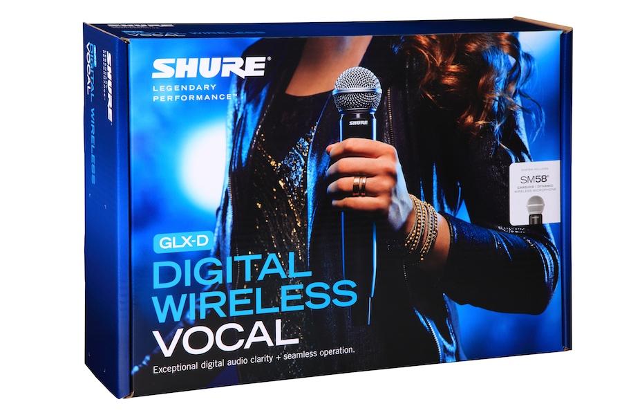 Shure Glxd24 Sm58 Digital Wireless Handheld Microphone