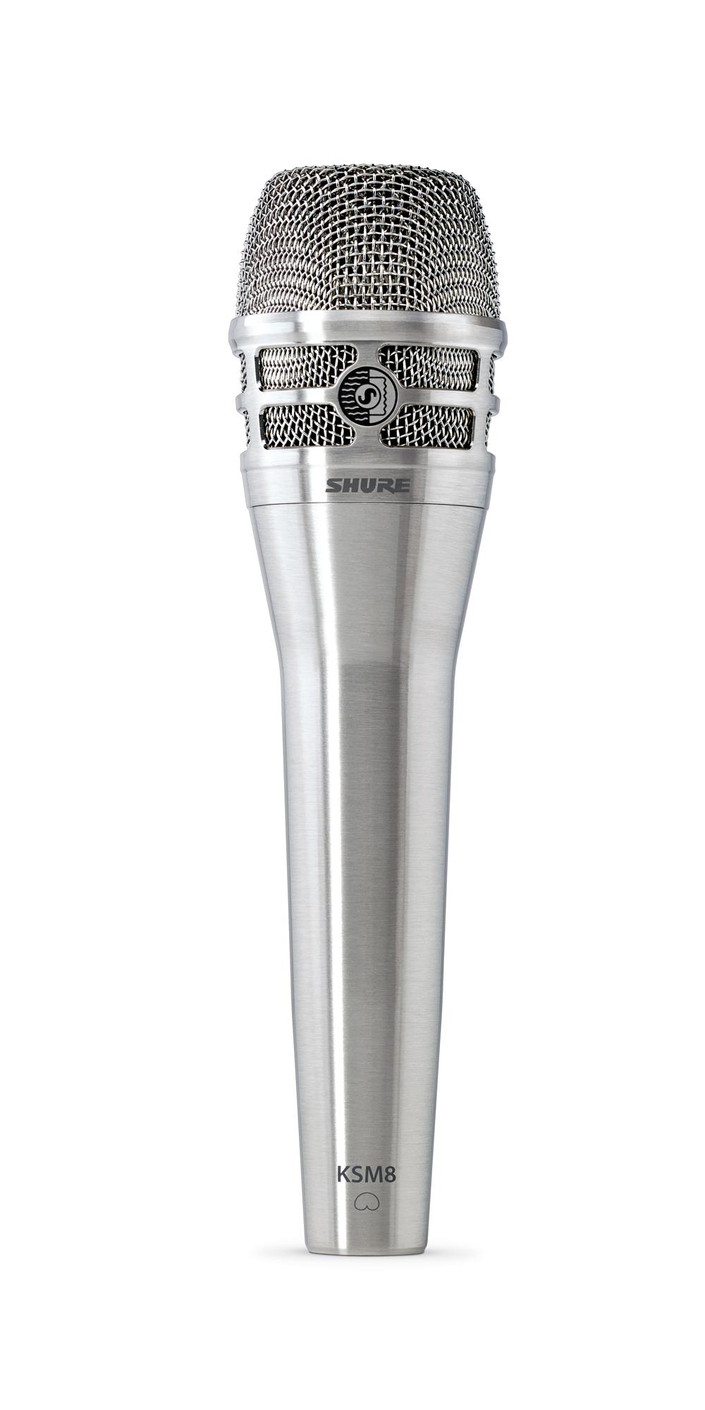 shure ksm8 dualdyne handheld dynamic microphone nickel pro audio superstore. Black Bedroom Furniture Sets. Home Design Ideas