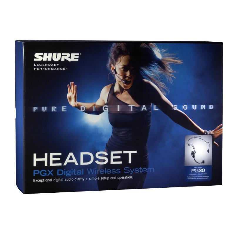 Shure Pgxd14 Pga31 Digital Wireless Headset Microphone
