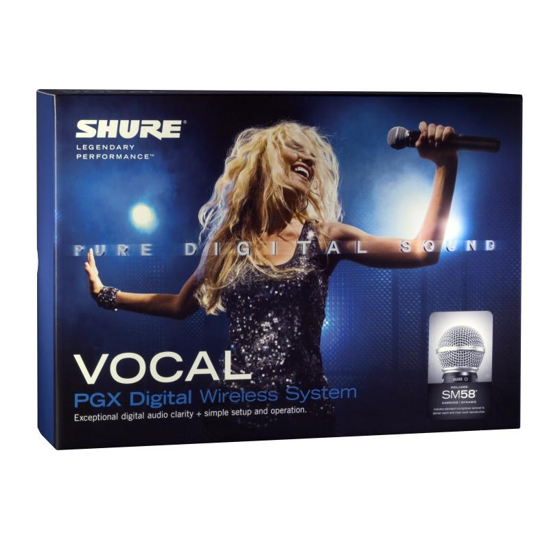 Shure Pgxd24 Sm58 Wireless Microphone System Pro Audio