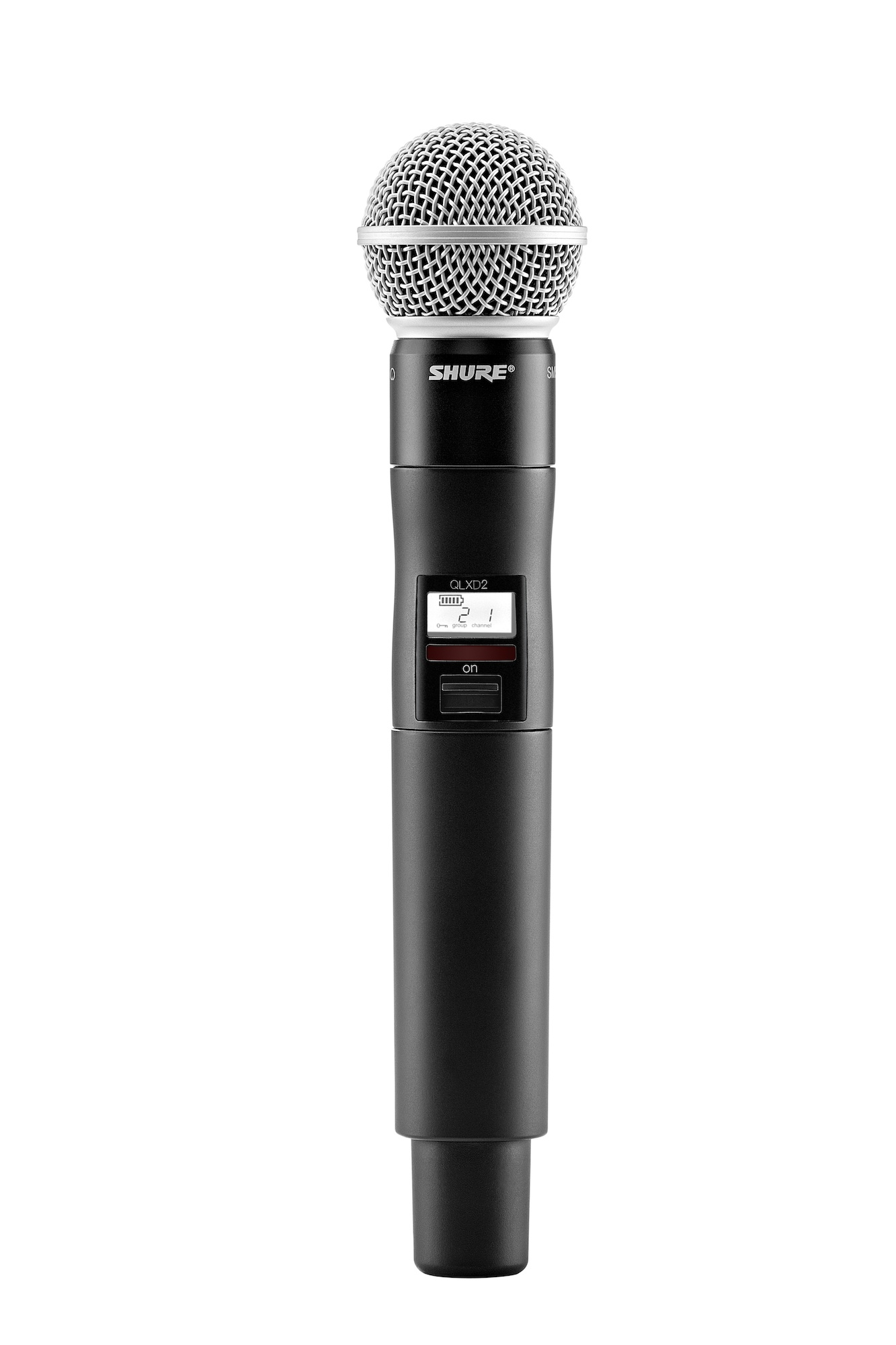 shure qlxd124 85 combo digital wireless microphone system pro audio superstore. Black Bedroom Furniture Sets. Home Design Ideas