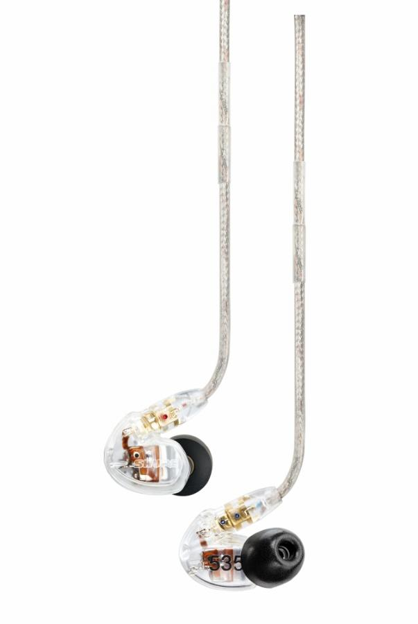 shure se535 sound isolating earphones pro audio superstore. Black Bedroom Furniture Sets. Home Design Ideas