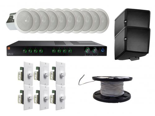 <h5>Restaurant Sound System Package</h5>