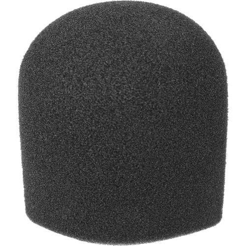 <h5>WindTech 900 Series Microphone Windscreen - 1-5/8 inch Inside Diameter (Black)</h5>