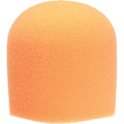 <h5>WindTech 900 Series Microphone Windscreen - 1-5/8 inch Inside Diameter (Orange)</h5>