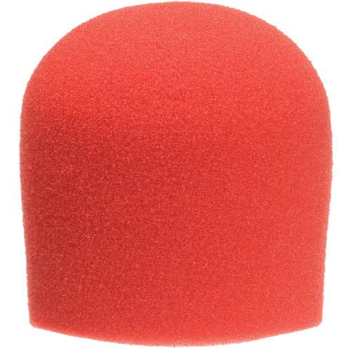 <h5>WindTech 900 Series Microphone Windscreen - 1-5/8 inch Inside Diameter (Red)</h5>