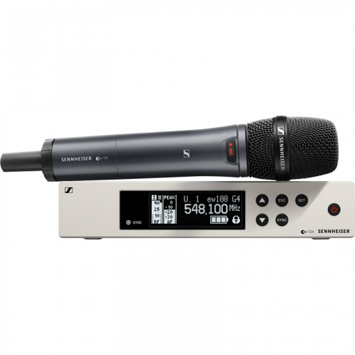 <h5>Sennheiser EW 100-835 G4-S Wireless Handheld Microphone System (A: 516 to 558 MHz)</h5>