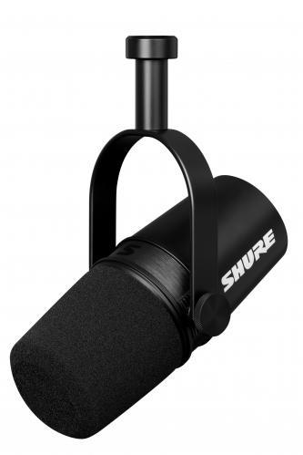<h5>Shure MV7X Dynamic XLR Podcast Microphone (Black)</h5>