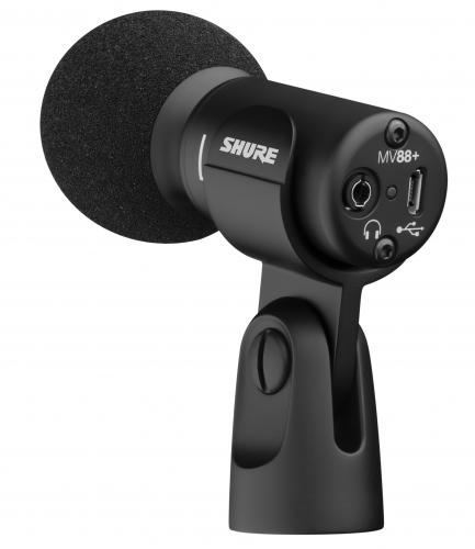 <h5>Shure MV88+ Stereo USB Microphone</h5>