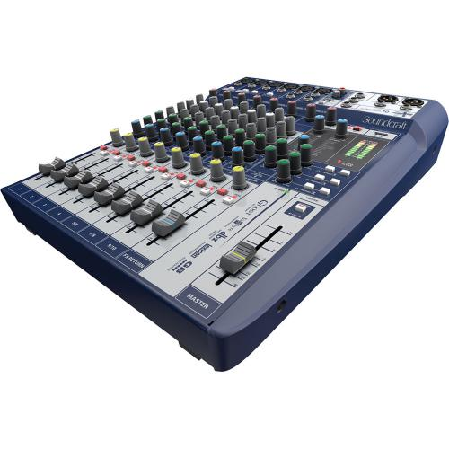 <h5>Soundcraft Signature 10 10-Input Mixer with Effects</h5>