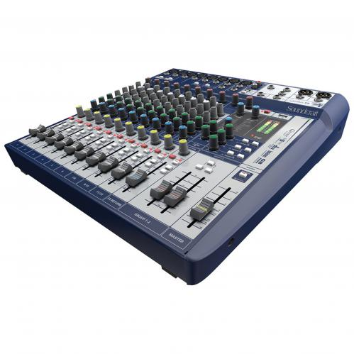 <h5>Soundcraft Signature 12 12-Input Mixer with Effects</h5>
