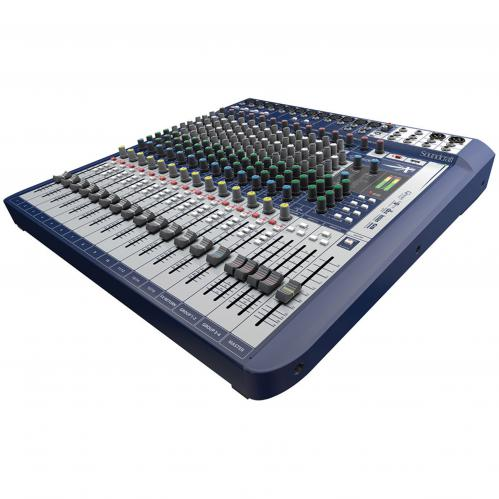 <h5>Soundcraft Signature 16 16-Input Mixer with Effects</h5>