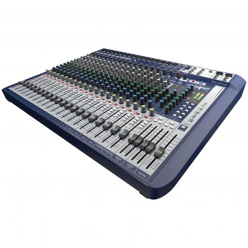 <h5>Soundcraft Signature 22 22-Input Mixer with Effects</h5>
