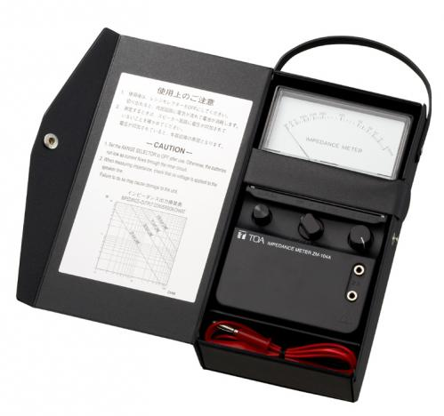 <h5>Toa Electronics ZM-104A Portable Impedance Meter</h5>