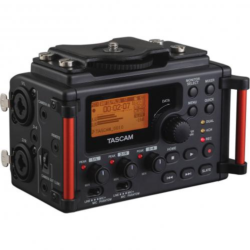 <h5>Tascam DR-60DmkII 4-Input / 4-Track Multitrack Field Recorder</h5>
