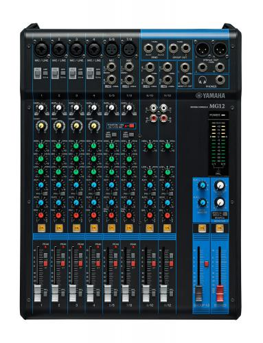 <h5>Yamaha MG12 Compact 12-Channel Analog Mixing Console</h5>