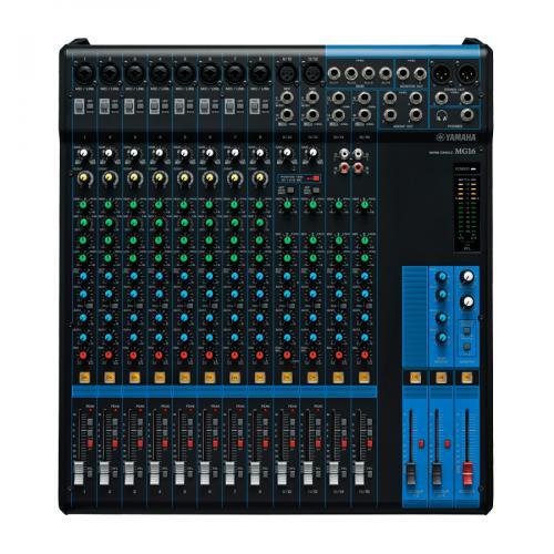 <h5>Yamaha MG16 Rugged 16-Channel Analog Mixing Console</h5>