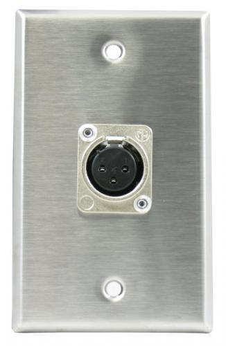 <h5>Horizon WP1042 Wall Plate (non-latching female XLR)</h5>