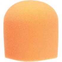 WindTech 900 Series Microphone Windscreen - 1-5/8 inch Inside Diameter (Orange)