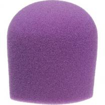 WindTech 900 Series Microphone Windscreen - 1-5/8 inch Inside Diameter (Purple)