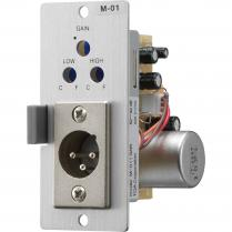 TOA M-01M Microphone Level Input Module (XLRM)