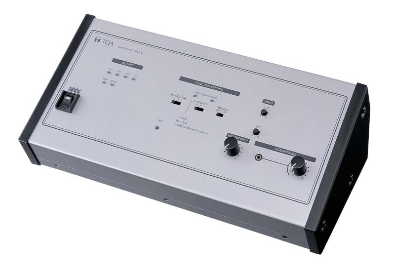 Toa Ts 800ul Controller Pro Audio Superstore