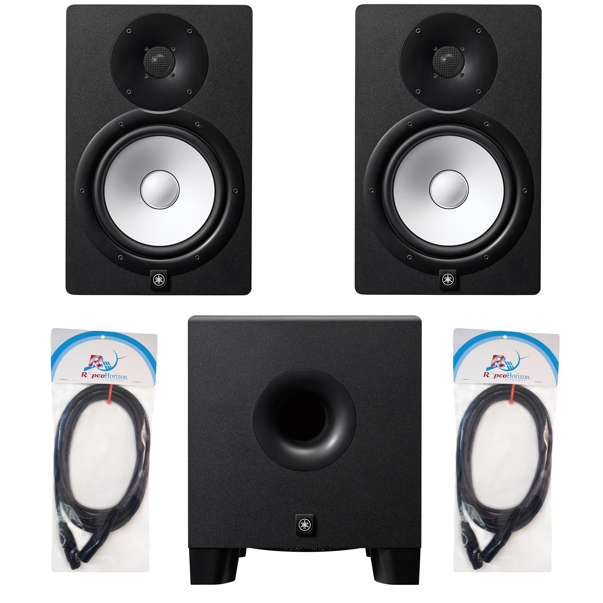 yamaha hs series studio monitor bundle 2 pro audio